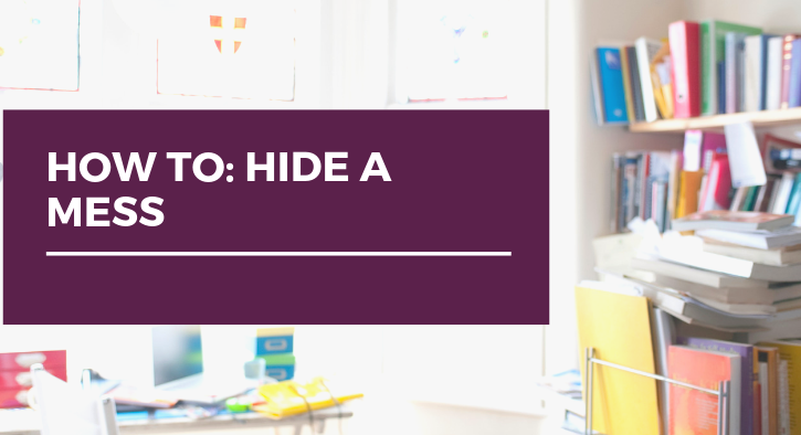 How To: Hide Messes While Selling your House